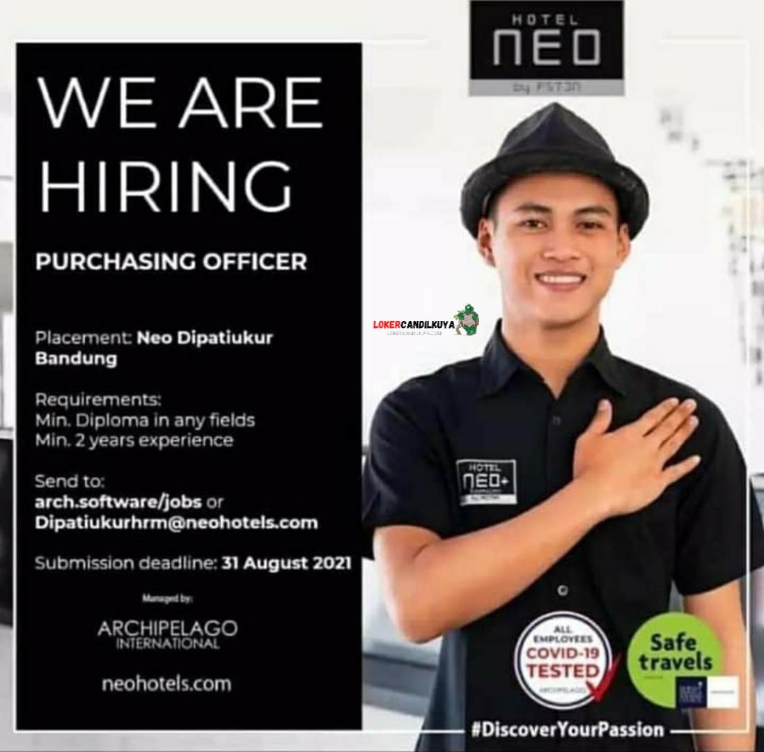Lowongan Kerja Hotel Neo Bandung