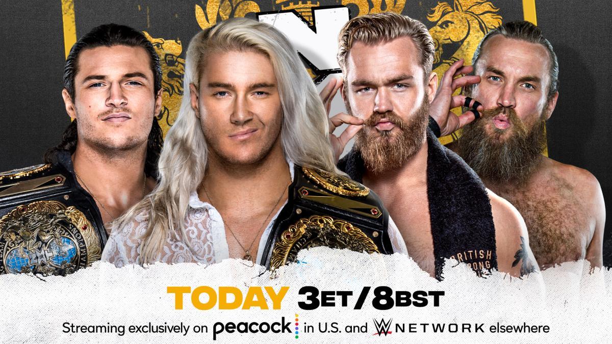 Cobertura: WWE NXT UK (19/08/2021) – Apenas começando!