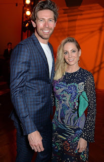 Joanne Froggatt with her ex-hubby James Cannon