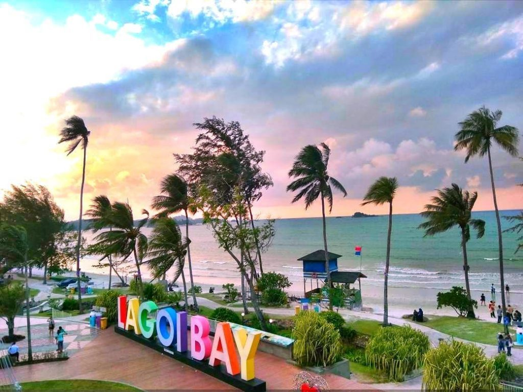 Lagoi Bay Bintan, Pantai Indah Nan Resik