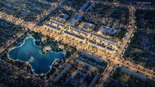 Dự án Avenue Garden Tây Tựu Tây Thăng Long Bắc Từ Liêm Hà Nội - Trực tiếp chủ đầu tư