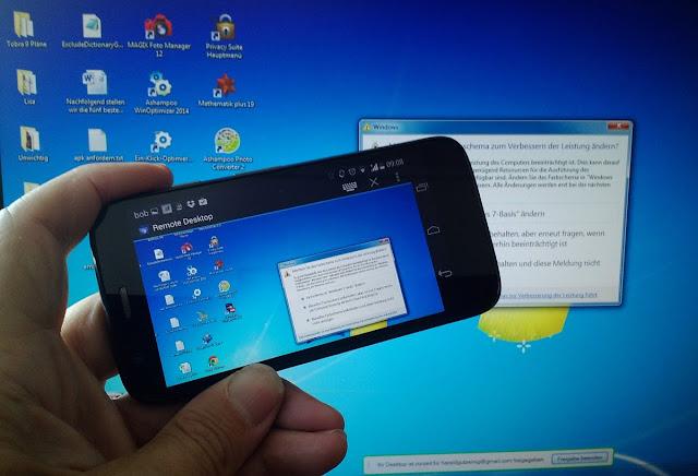 Cara Remote PC Pakai Android