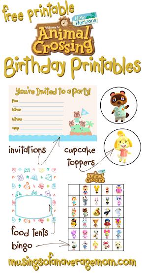 Animal Crossing Birthday Ideas