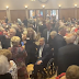 TX Governor Abbott, who tested + for COVID-19 today, at a Republican club meeting yesterday (Picture)