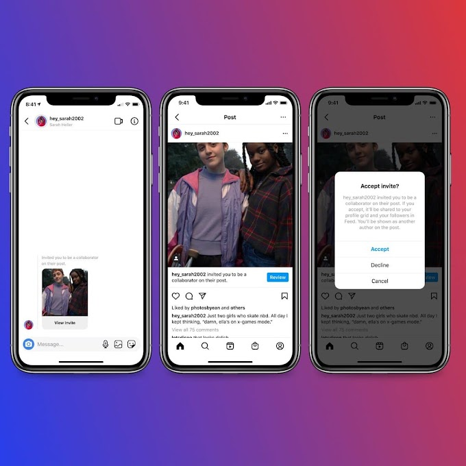 Instagram Releases 'Collabs' Feature