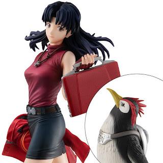 Evangelion the new movie – Katsuragi Misato & Penpen GALS Series, Megahouse