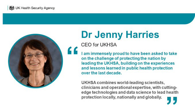 Jenny Harries is leading the UK Health Security Agency