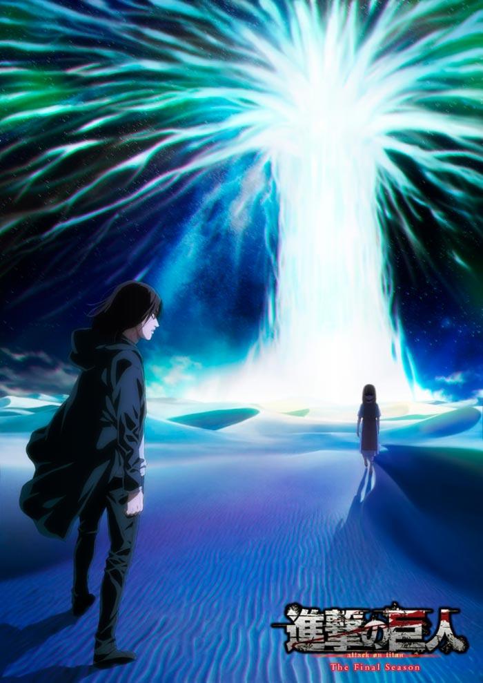 Shingeki no Kyojin anime - Temporada Final Parte 2 - poster