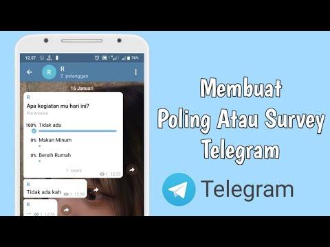 Tips Cara Buat Polling Group Telegram Tanpa Bot
