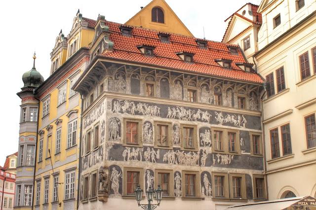 House Minute Franz Kafka Prague