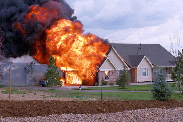 How long does home insurance last after a fire?