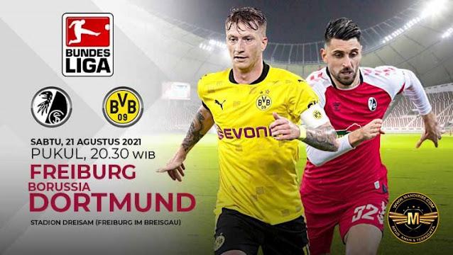 Prediksi SC Freiburg Vs Borussia Dortmund