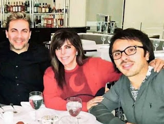 Picture of Michel Saenz Castro with his parents