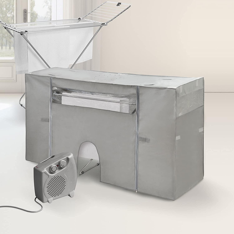 Funda para tendedero que seca la ropa con calefactor