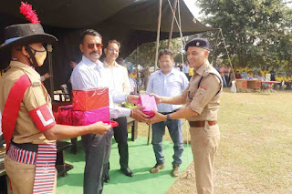 Sdrf 9th Foundation day Commandant bhullar inaugurated central police canteen