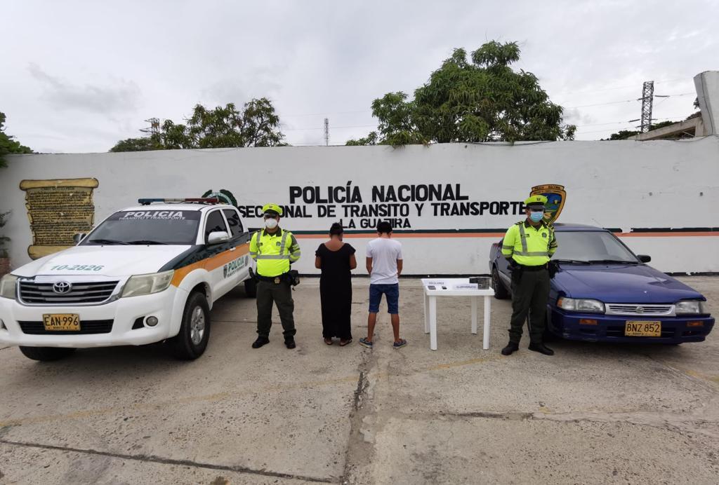 hoyennoticia.com, Dos capturados con coca en la vía a Paraguachón