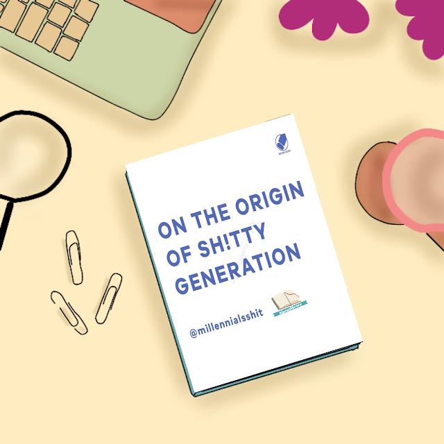 On the origin of sh!tty generation Blogtour