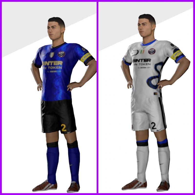 Kit Inter Milan 2022 Dream League Soccer & Logo 512x512