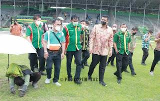 Inginkan PSMS Medan Kembali Berjaya,  Bobby Nasution Akan Benahi Stadion Teladan