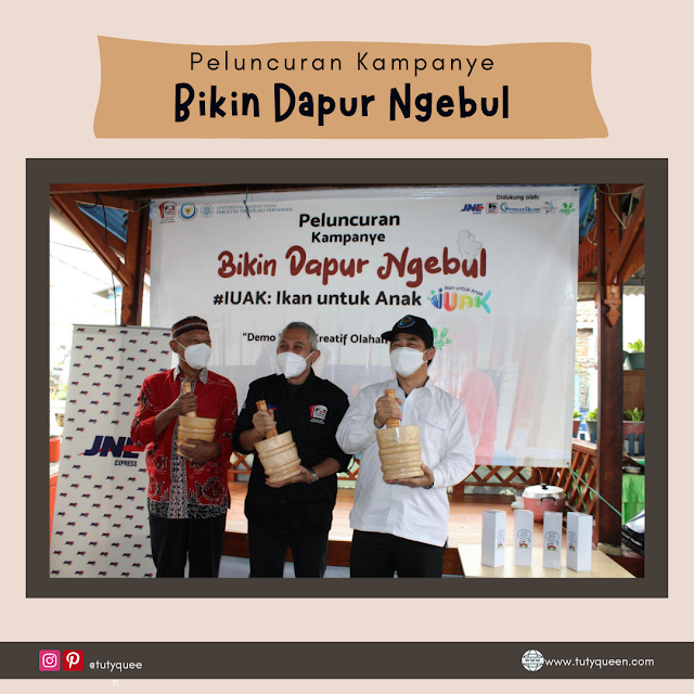 Peluncuran kampanye Bikin Dapur Ngebul
