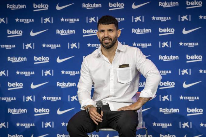 Revealed: Barca Striker Sergio Aguero turned down an approach from Juventus