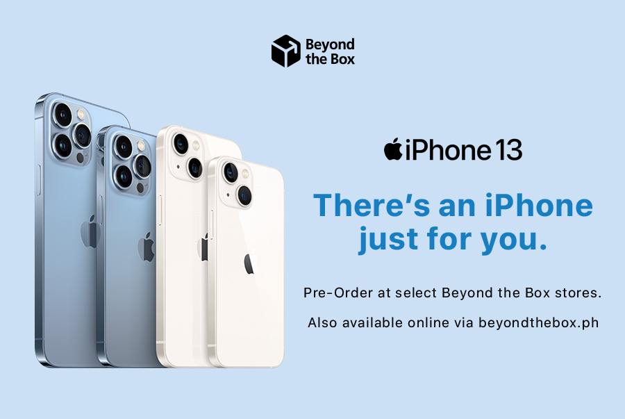Apple iPhone 13 Series Philippines, Apple iPhone 13 Series Beyond The Box