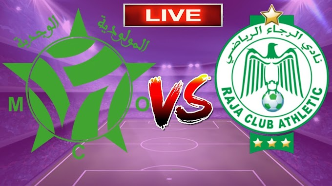 Watch Raja VS Mouloudia Oujda Live Match
