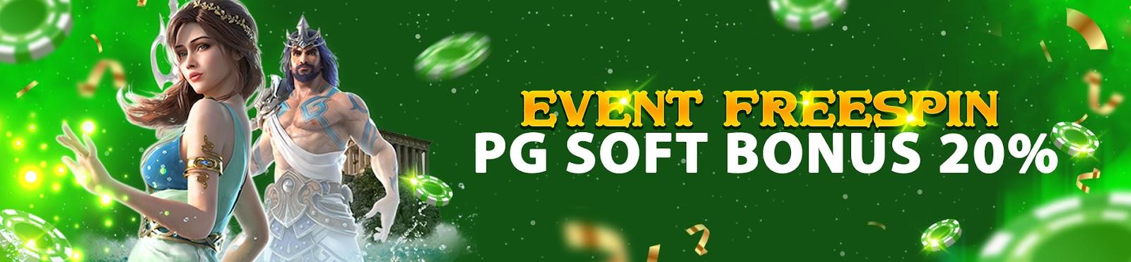 FREESPIN PG SOFT 20%
