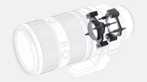 Механизм фокусировки Sony FE 70-200mm f/2.8 GM OSS II