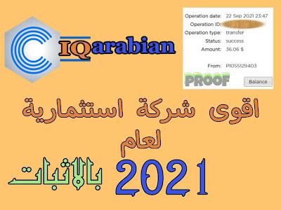شرح موقع iq Arabian.