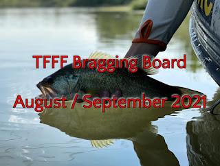 Bragging Board, TFFF Bragging Board, August 2021, September 2021, Texas Fly Fishing, Fly Fishing Texas, Texas Freshwater Fly Fishing, TFFF