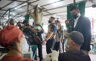 Turun Leval 2, Bobby Nasution: Sudah 50 Persen Masyarakat Kota Medan Divaksin