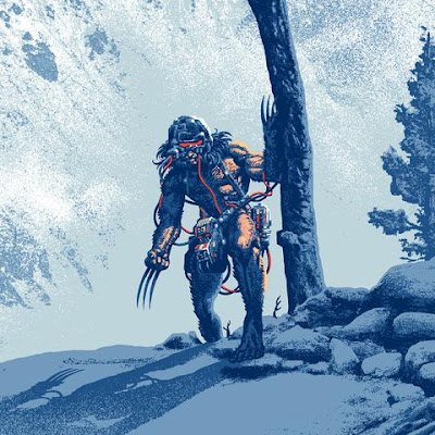 "New York Comic Con 2021 Exclusive X-Men ""Weapon X"" Wolverine Screen Print by Mark Englert x Bottleneck Gallery x Marvel Comics"