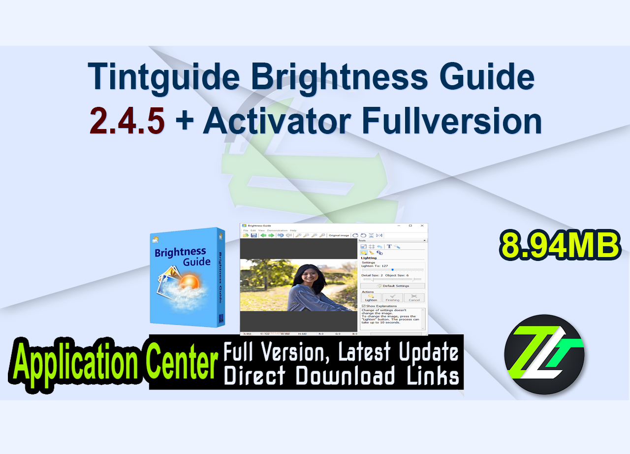 Tintguide Brightness Guide 2.4.5 + Activator Fullversion