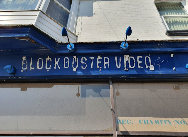 Blockbuster Video Express in Shanklin on the Isle of Wight