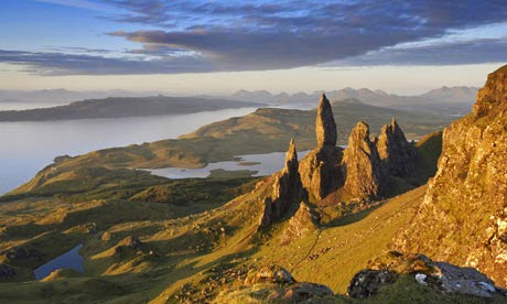 Trotternish, Isle of Skye, Scotland (with Map & Photos)