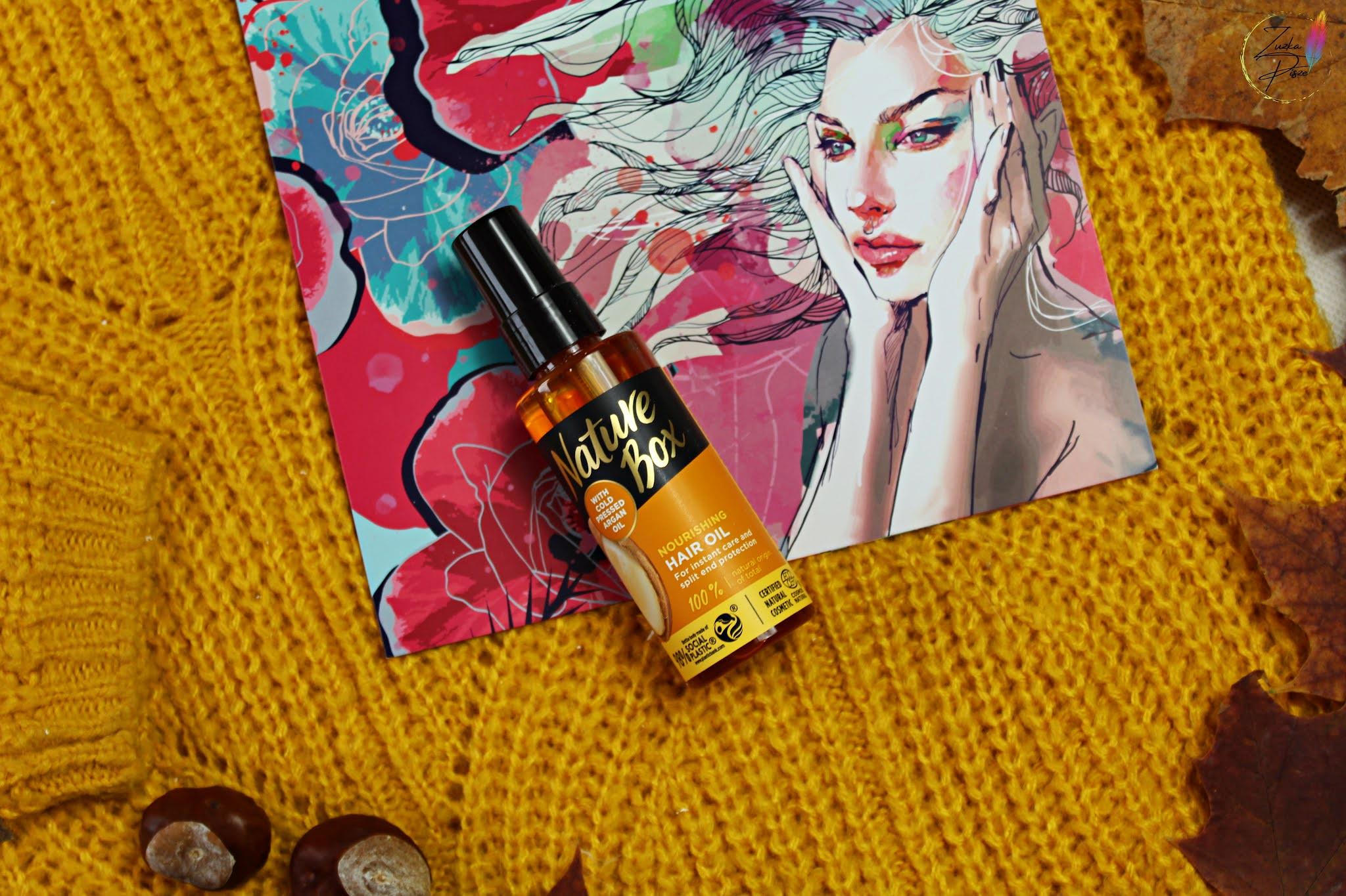 NATURE BOX odżywczy olejek do włosów