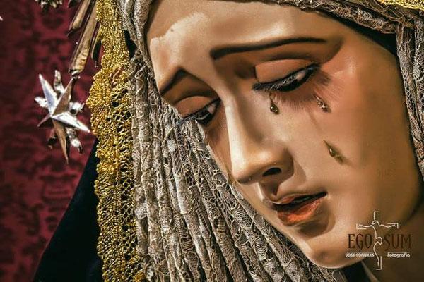 Horario e Itinerario Rosario Vespertino Ntra. Sra. del Desconsuelo. Sevilla 12 de Octubre del 2021