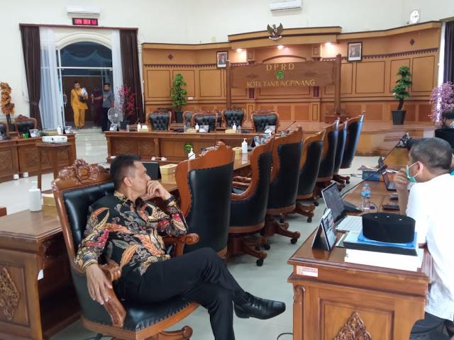 Banggar Kecewa TAPD Kota Tanjungpinang Selalu Molor Menghadiri Rapat