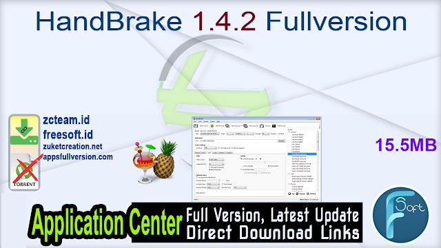 HandBrake 1.4.2 Fullversion
