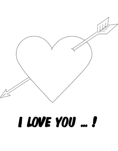 Free Printable I Love You Coloring Pages Pdf