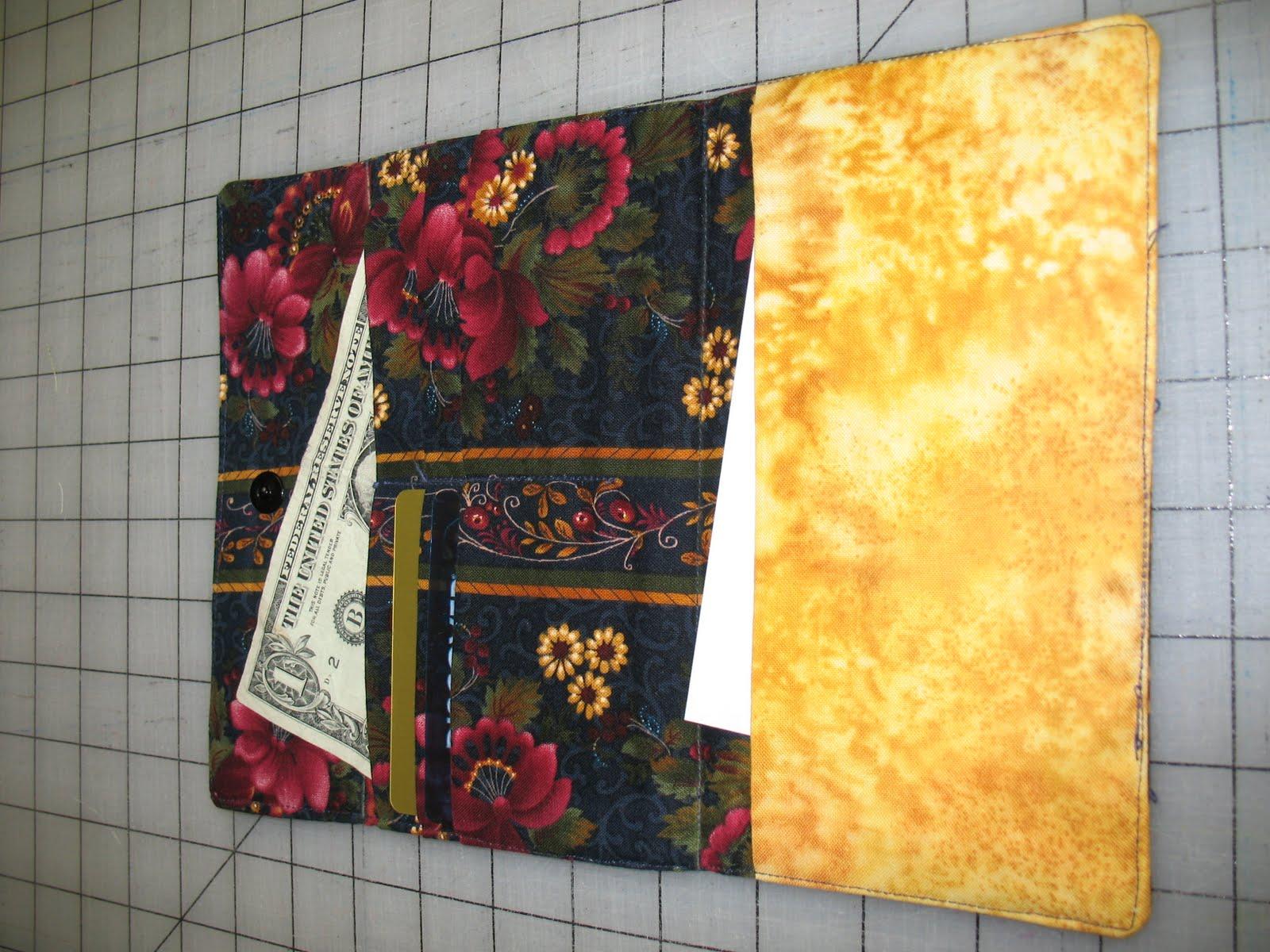 Victoria Wallet Sew Tutorial