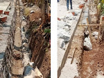 Pembangunan Drainase Jalan Raya Rego-Petir Disoal BMW