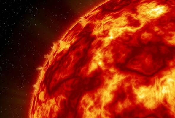 Ribut Solar Diramal Bakal Hentam Bumi Tengah Malam Ini