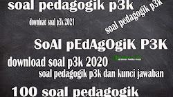 Contoh Soal Pedagogi Tes PPPK Tahun 2021 (Soal 1 sampai 15)