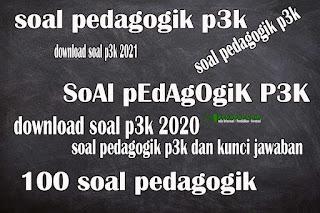 Soal dan jawaban pedagogik pppk download kumpulan soal p3k dan jawabannya pdf kumpulan soal pedagogik p3k 2021