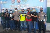 Polsek Carenang Bersinergi dengan Combat dan Bikers Hijrah Nusantara Gelar Vaksinasi Dosis II
