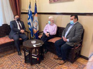 Στο Δημαρχείο ο Ειδικός Γραμματέας Συντονισμού Εμπλεκόμενων Φορέων του Υπουργείου Μετανάστευσης