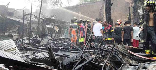 Kebakaran terjadi di Banjarmasin
