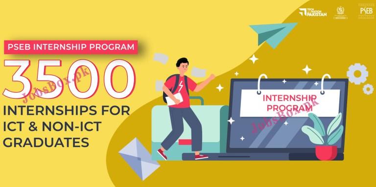 https://internships.pseb.org.pk - PSEB Pakistan Software Export Board Internship Program 2021 in Pakistan
